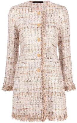 Tagliatore Doris tweed coat