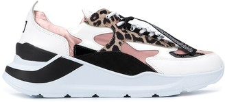 D.A.T.E Colour-Block Chunky Sole Sneakers