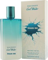 Davidoff Cool Water Freeze Me Cologne by Zino for Men. Eau De Toilette Spray 4.2 Oz Limited Edition 2008.