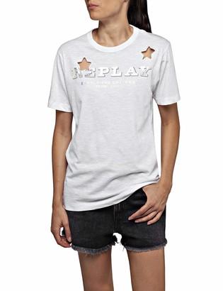 Replay Women's W3308a.000.22676p T-Shirt