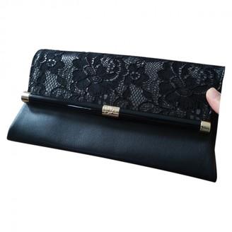 Diane von Furstenberg Black Leather Handbags