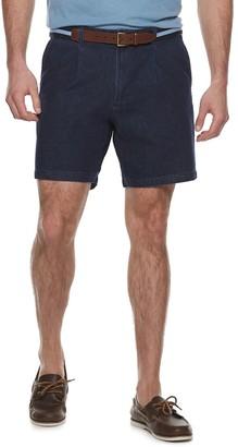 Croft & Barrow Men's Comfort Waist Pleated Flat Front Shorts