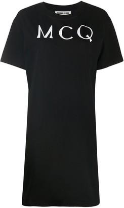 McQ logo T-shirt dress