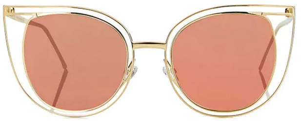 Thierry Lasry Eventually - Rose Gold Mirror