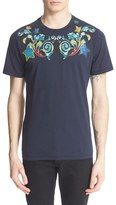 Versace Men's 'Painted Baroque' Graphic T-Shirt