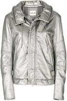 Helmut Lang metallic padded jacket