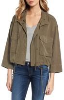 Splendid Women's Crop Military Jacket