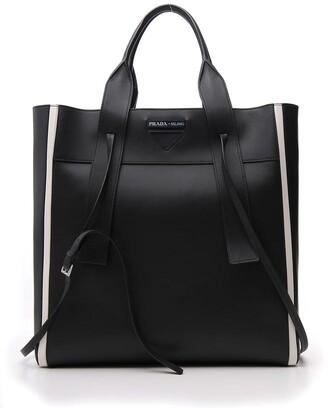 Prada Logo Shopper Bag