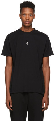 Marcelo Burlon County of Milan Black Heart Wings T-Shirt