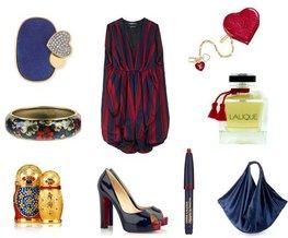 Lalique, Estee Lauder, Christian Louboutin