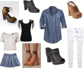 Forever 21, Topshop, , Old Navy,Aeropostale, Tory Burch, Stuart Weitzman, Marc by Marc Jacobs, Free People, Steve Madden
