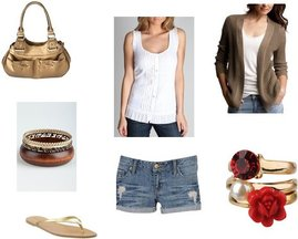 Charlotte Russe, Mossimo, Old Navy, Forever 21, Gap, Forever 21, Charlotte Russe