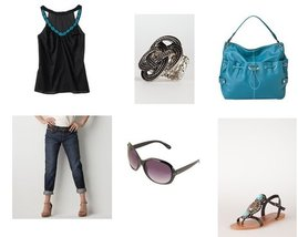 Forever 21, Charlotte Russe, Mossimo, Charlotte Russe, LOFT, Old Navy