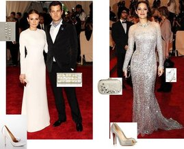 Inge Christopher, H.Stern, Badgley Mischka, Christian Louboutin,  Kenneth Jay Lane, Celestina