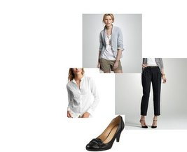 Gap, J.Crew, Nine West, J.Crew