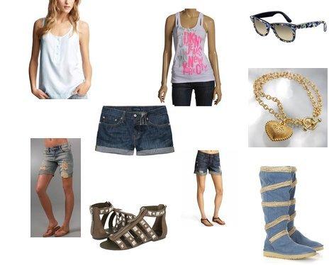 Dolce Vita, Levi's, DKNY Jeans, Ray-Ban, Vera Wang