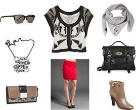 Balenciaga, Warner's, Chloé, Velvet, McQ by Alexander McQueen