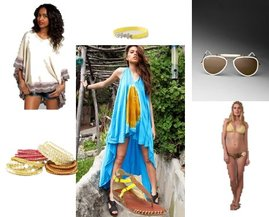 Ray-Ban, Anthropologie, Maya Swimwear, Chan Luu