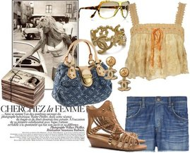 Chanel, Topshop, Jeffrey Campbell, Citizens of Humanity
