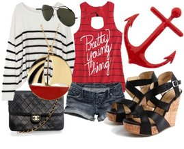 Abercrombie & Fitch, Chanel, Ray-Ban, Delia's