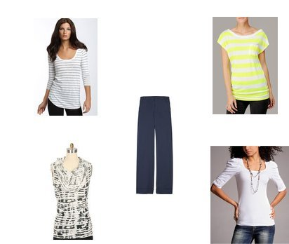 Express, Three Dots, Rebecca Beeson, 7 For All Mankind