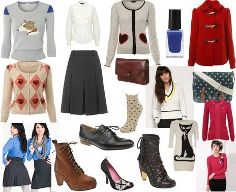 Fred Perry, Sonia Rykiel, New Look, Topshop