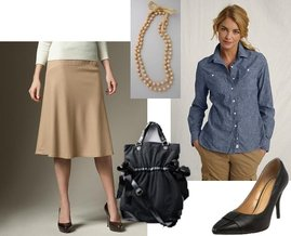 LOFT, Nine West, Talbots, Lands' End Canvas
