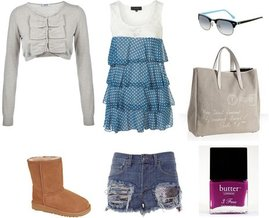 Ray-Ban, Butter London, UGG, Topshop, Moschino Cheap & Chic