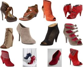 Nine West, Victoria's Secret, Boutique 9, Charlotte Russe