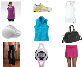 Lucy, Timex, The Sak, Nike, Nike, Lucy, Athleta