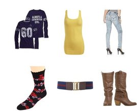Anna Sui, Wet Seal, Wet Seal, Forever 21, Levi's