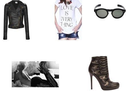 Alexander McQueen, Norma Kamali, Wildfox Couture