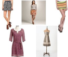 Anthropologie, Old Navy, Forever 21, J.Crew