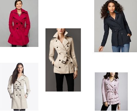 Burberry, White House, Lucky Brand, Express