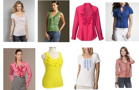 Old Navy, Forever 21, Merona, The Limited