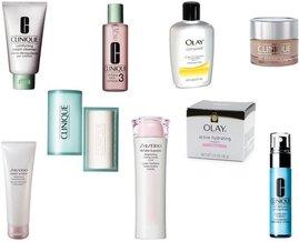 Clinique, Olay, Olay, Shiseido, Shiseido, Clinique