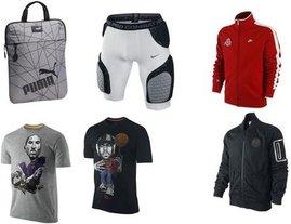 Nike, Nike, Nike, Nike, Nike, Puma