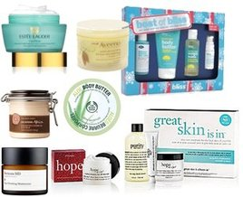 Aveeno, Estee Lauder, philosophy, The Body Shop