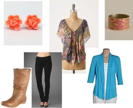 Lucky Brand, Fred Flare, TanJay, Anthropologie