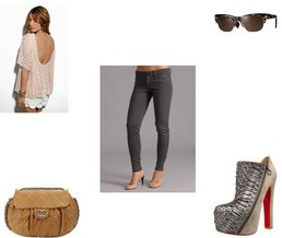Oliver Peoples, Christian Louboutin, Joe's Jeans