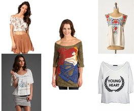 Wildfox Couture, Anthropologie, Custo Barcelona