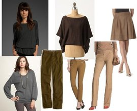 Gap, Waverly, The Limited, Anthropologie, J.Crew