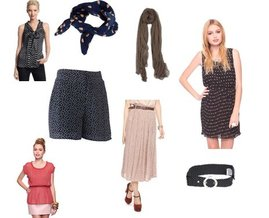 Forever 21, Chan Luu, See by Chloe, Topshop