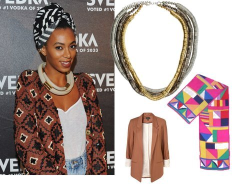 Solange show's us what to rock for fall!