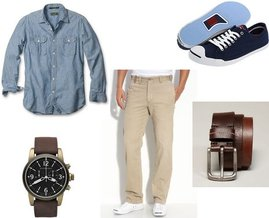 Converse, American Eagle, Burberry, Dockers