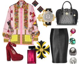 Versace, Kate Spade, Erickson Beamon, Banana Republic