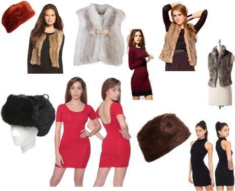 Topshop, Glamour Puss, Elle, BB Dakota, J. Mendel