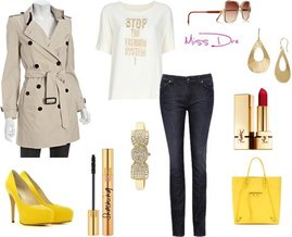 Retro Sun, Yves Saint Laurent, Badgley Mischka