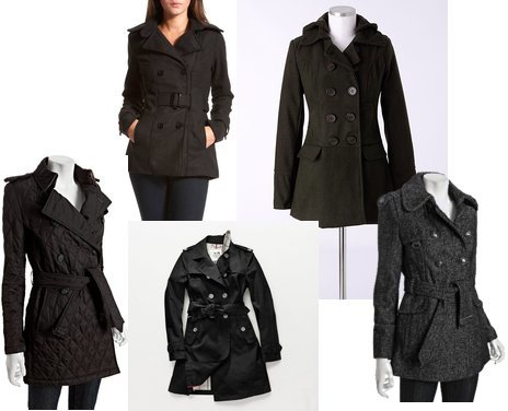 Coach, Burberry, Delia's, Miss Sixty, Charlotte Russe