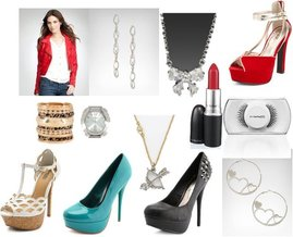 M·A·C, Charlotte Russe, Bebe, Juicy Couture